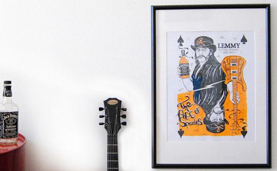 lemmy-serigraphie-cadre-jack-daniels-salon-ambiance