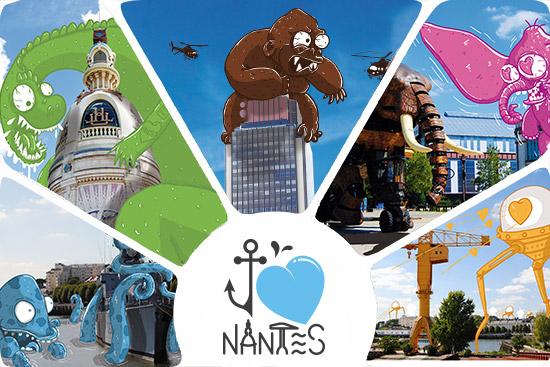 Nantes montage photo