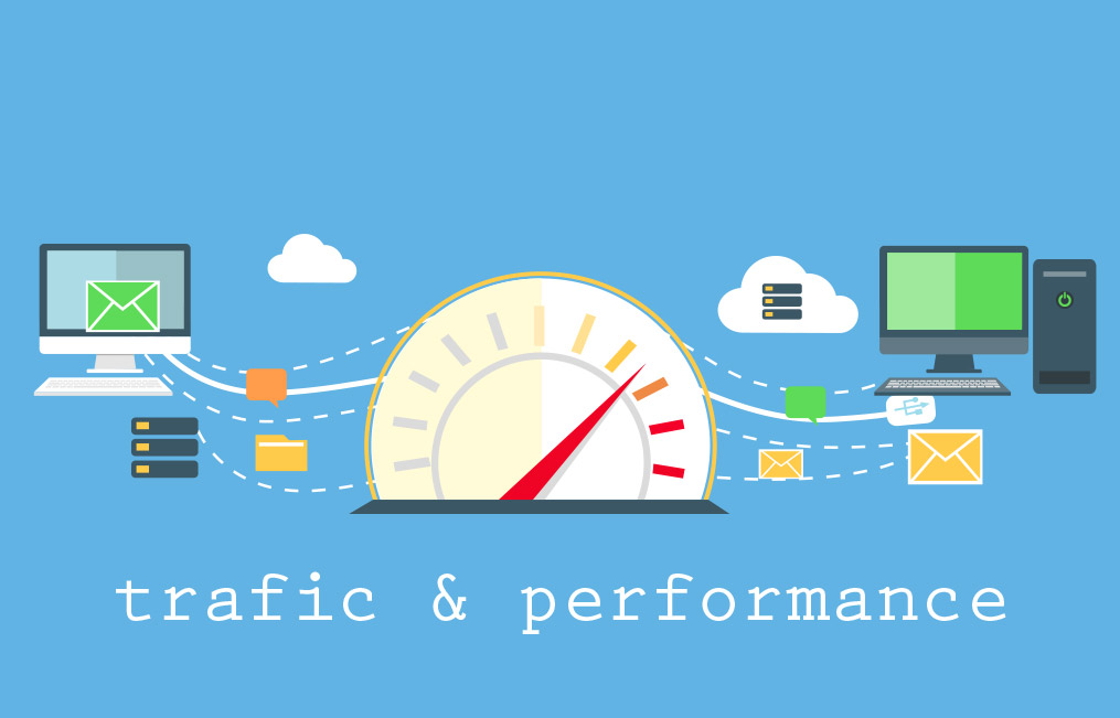 trafic et performance de site internet