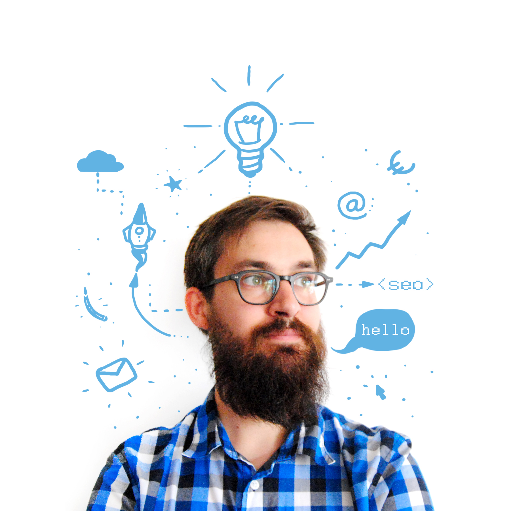Romain Maillet alias Grossemain Webmaster SEO et graphiste illustrateur à Nantes